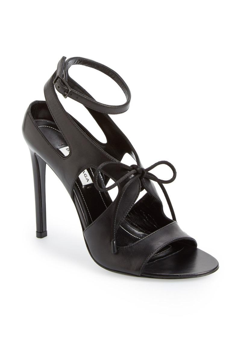 balenciaga balenciaga cutout sandal women shoes shop it to me. Black Bedroom Furniture Sets. Home Design Ideas