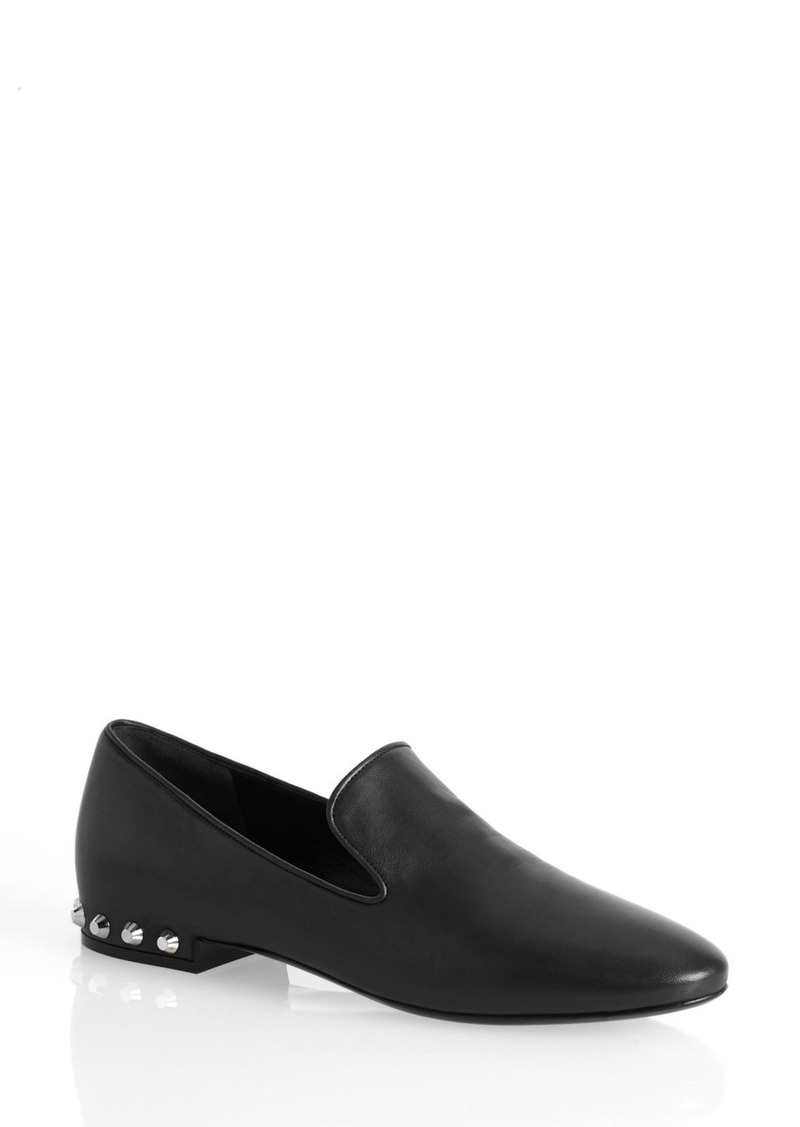 balenciaga balenciaga studded loafer women shoes shop it to me. Black Bedroom Furniture Sets. Home Design Ideas