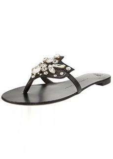 Giuseppe Zanotti Crystal-Cluster Thong Sandal