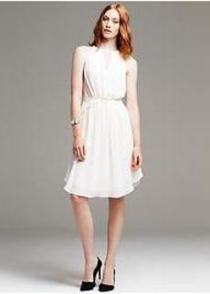 Chiffon Halter Dress