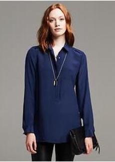 Dark Silk Tunic