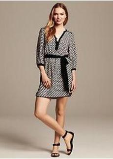 Dot Print Riviera Dress