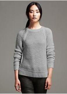 Horizontal Stitch Pullover