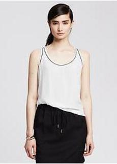 Piped Racerback Tank