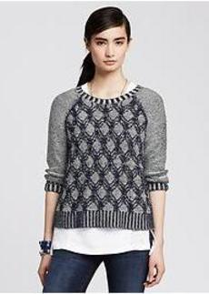 Plaited Cable Pullover
