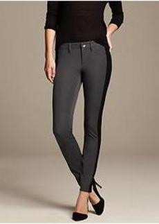 Sloan-Fit Side-Stripe Skinny Ankle Pant