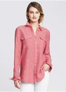 Soft-Wash Linen Cotton Shirt