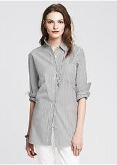 Striped Boyfriend Shirt