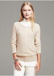 Textured Lightweight Pullover