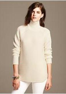 Waffle-Knit Pullover