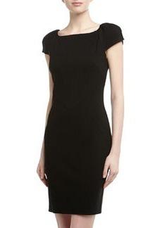 Diane von Furstenberg Helen Ponte Sheath Dress, Black