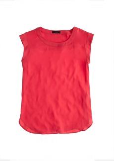 Sleeveless drapey top