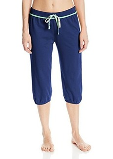 Tommy Hilfiger Women's French Terry Capri Pajama Pant