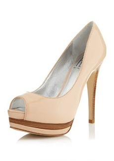 Pelle Moda West2 Platform Pump, Pale Rose