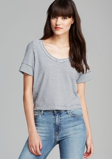 Splendid Tee - Dark Stripe
