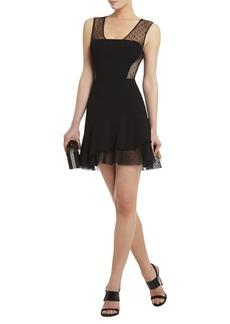 Adrianna Asymmetrical Ruffle-Skirt Dress