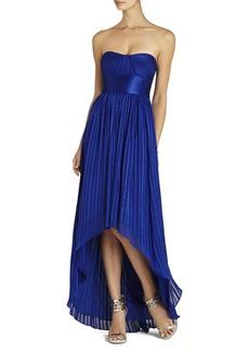 Alicia Silk Charmeuse Sash Gown