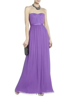 Amber Strapless Evening Gown