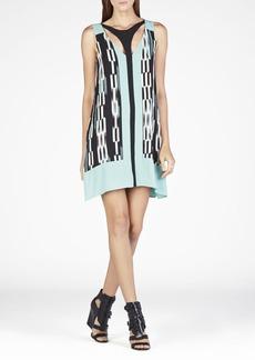 Amelia Printed Cutout Dress