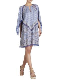 Bardot Printed Long-Sleeve Dress