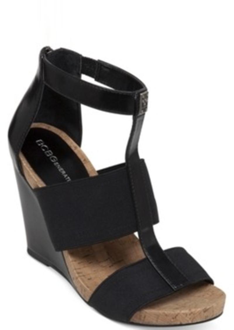 bcbg bcbgeneration barlee platform wedge sandals only at
