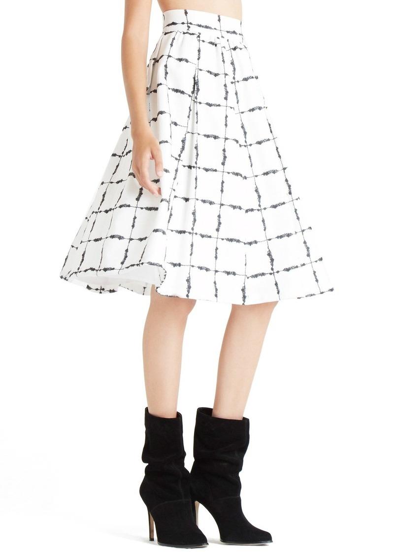 bcbg bcbgeneration checkered a line skirt skirts shop