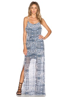 BCBGeneration Double Slit Maxi Dress