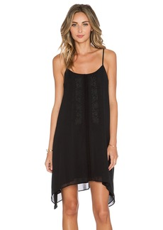 BCBGeneration Embroidered Front Dress