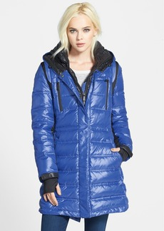 BCBGeneration Hooded Down & Feather Fill Anorak