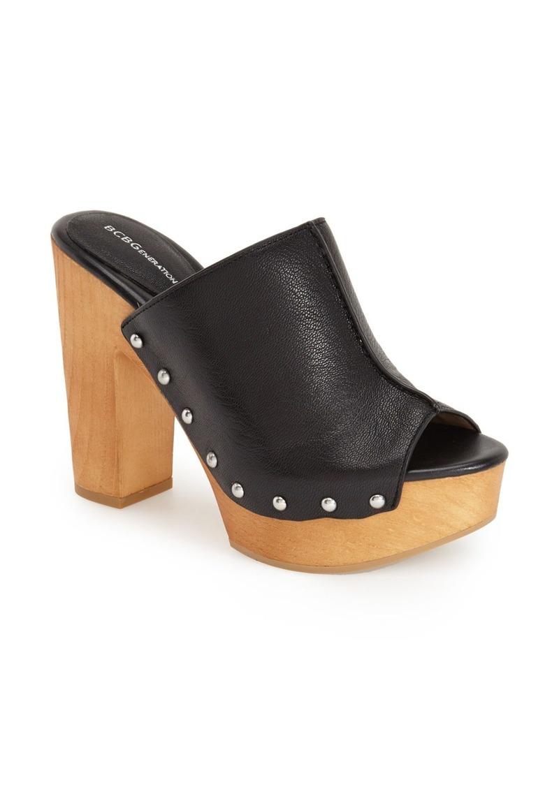 bcbg bcbgeneration karena platform mule shoes