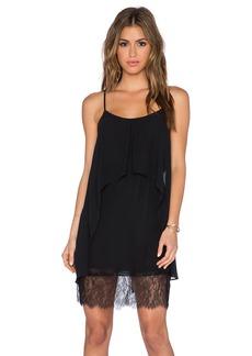 BCBGeneration Lace Hem Dress