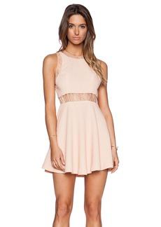 BCBGeneration Lace Insert Dress