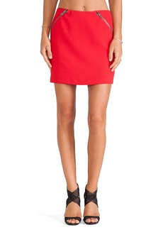 BCBGeneration Zipper Detail Mini Skirt