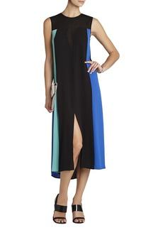 Becka Sleeveless Color-Blocked Dress
