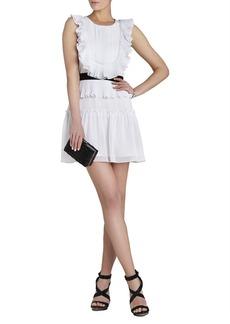 Britt Pleated Ruffle Dress