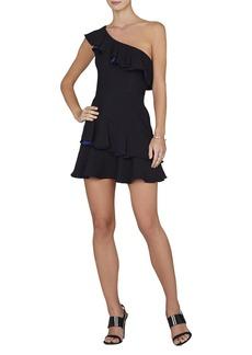 Calinda One-Shoulder Ruffle Dress