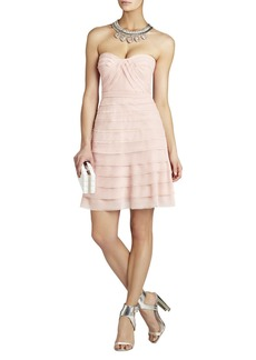 Cocco Strapless Tiered Dress