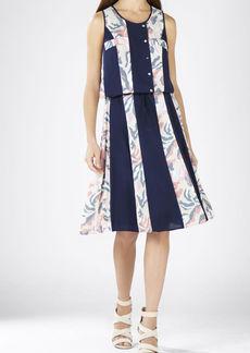 Courtnee Print-Striped Dress