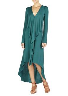 Crissie Cascade-Front Dress