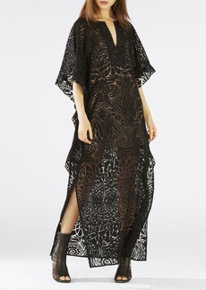 Dameka Ruffled Long Kaftan Dress