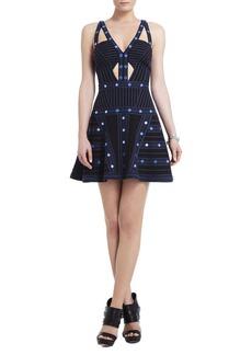 Emilia Sleeveless Embellished Short Dress