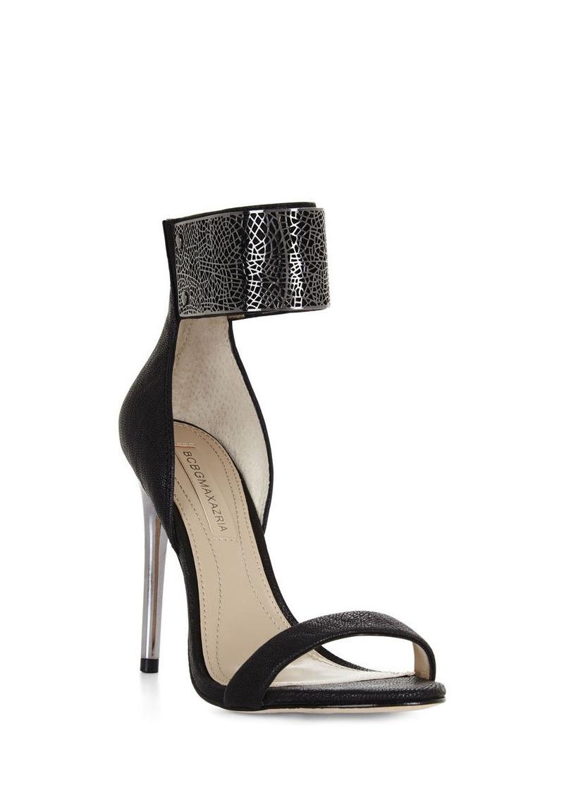 bcbg everling high heel filigree dress sandal shoes