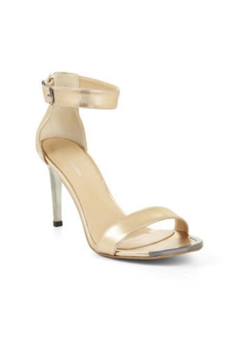 bcbg high heel open toe sandal shoes shop it to me