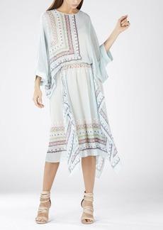 Jaelyn Asymmetrical Scarf Print Dress