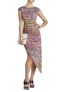 Jenifer Boatneck Asymmetrical-Hem Dress