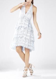 Jessika Tiered Halter Dress