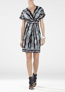 Kaitlin Dolman Sleeve Wrap Dress