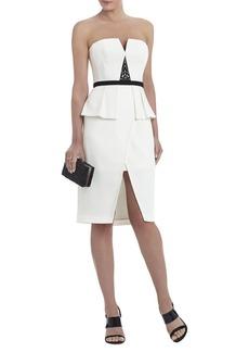 Karie Strapless Embellished-Bodice Dress