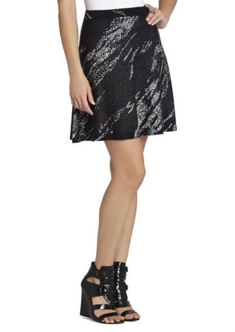 bcbg karlie crackled jacquard a line skirt skirts shop