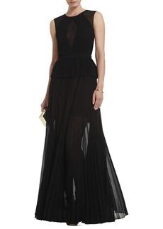 Karolina Sleeveless Pleated Gown